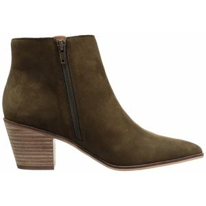 Lucky Brand Linnea Genuine Nubuck Ankle Booties